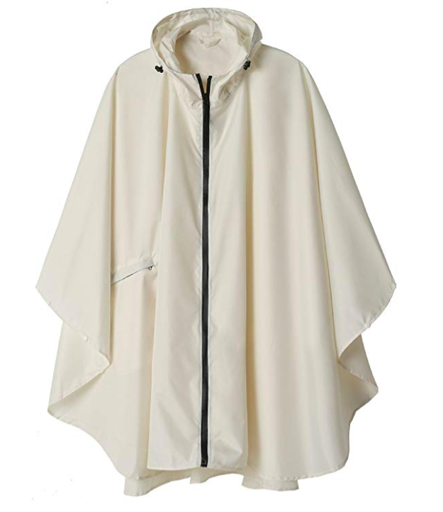 Lightweight and portable poncho is a great gift for someone traveling abroad.